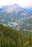 Montanhas rochosas fotografia de stock