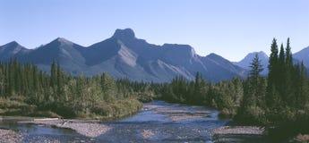 Montanhas rochosas Foto de Stock Royalty Free