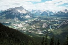 Montanhas Rochosas 3 Fotos de Stock Royalty Free
