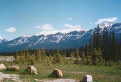 Montanhas rochosas Imagem de Stock Royalty Free