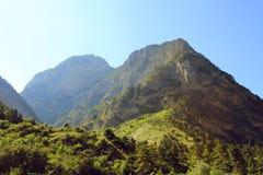 Montanhas rochosas cáucaso imagens de stock royalty free