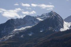 Montanhas rochosas de Colorado imagens de stock