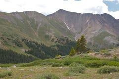 Montanhas rochosas de Colorado Fotografia de Stock