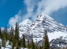 Montanhas rochosas de Colorado na primavera Imagem de Stock