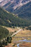 Montanhas rochosas de Colorado - passagem da independência fotos de stock royalty free