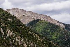 Montanhas rochosas do Mt princeton Colorado imagem de stock royalty free