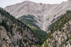 Montanhas rochosas do Mt princeton Colorado fotos de stock royalty free