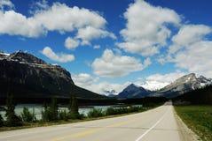 Montanhas rochosas do verão Fotografia de Stock