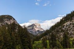 Montanhas rochosas em Montana imagem de stock royalty free