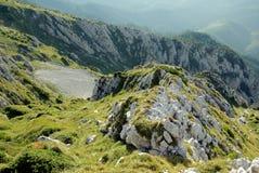 Montanhas romenas Imagens de Stock