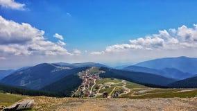 Montanhas romenas imagens de stock royalty free