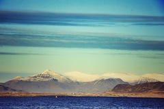 Montanhas sábias Fotografia de Stock
