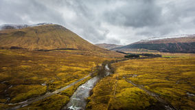 Montanhas, Scotland Imagem de Stock