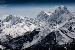 Montanhas severas Fotos de Stock Royalty Free