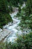 Montanhas, shumack, o Lago Baikal, rio, água, viagem, abeto vermelho, floresta, montanha, Rússia imagens de stock royalty free