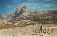 Montanhas Spain do d'Europa de Picos Fotografia de Stock Royalty Free