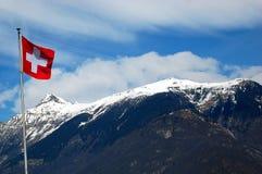 Montanhas suíças Fotos de Stock