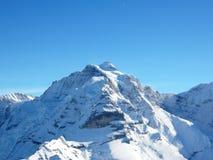 Montanhas suíças dos alpes Foto de Stock
