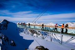 Montanhas superiores Fotografia de Stock