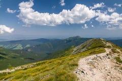 Montanhas surpreendentes do verão Foto de Stock Royalty Free