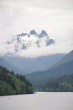 Montanhas tampadas neve Imagem de Stock