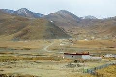Montanhas Tibet foto de stock