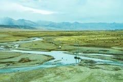 Montanhas Tibet fotos de stock