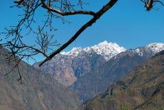 Montanhas tibetanas nevado Fotografia de Stock Royalty Free