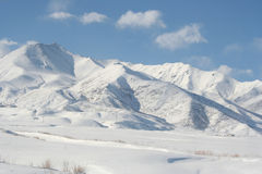 Montanhas v4 da neve Fotos de Stock Royalty Free