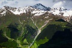 Montanhas verdes Imagem de Stock Royalty Free