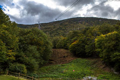 Montanhas verdes Fotos de Stock Royalty Free