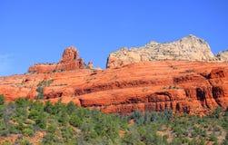 Montanhas vermelhas em Sedona, o Arizona da rocha Imagens de Stock Royalty Free