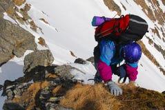 Montanhista Imagens de Stock