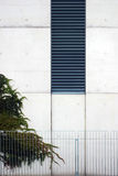 Montanhista no concreto imagem de stock