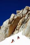 Montanhistas Foto de Stock