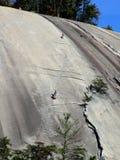 Montanhistas de pedra do parque estadual da montanha Imagens de Stock