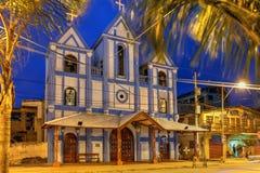 Montanita, Ekwador zdjęcie stock