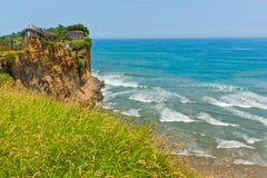 Beach Cliffs of South America 1 Royalty Free Stock Images