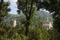 Montano πανοράματος SU antico Castello Στοκ Φωτογραφία