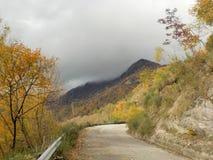 Montano de Paesaggio Photo stock