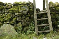 Montant dans le mur, district de lac, R-U Image libre de droits