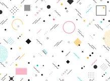 Montant génial de formes géométriques abstraites de fond moderne coloré de modèle Vous pouvez employer pour la conception moderne illustration stock