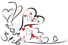 Montante 1 del amor Foto de archivo