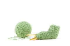 Montante em andamento do bebê do Knit   Imagem de Stock