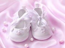 Montantes brancos do bebê imagem de stock royalty free