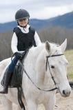 Montar a caballo Fotos de archivo