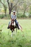 Montar a caballo Fotografía de archivo