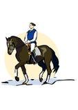 Montar a caballo libre illustration