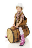 Montar el barril Foto de archivo libre de regalías