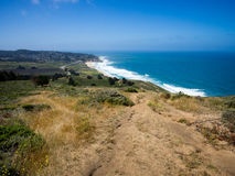 Montara, California and Montara State Beach royalty free stock images